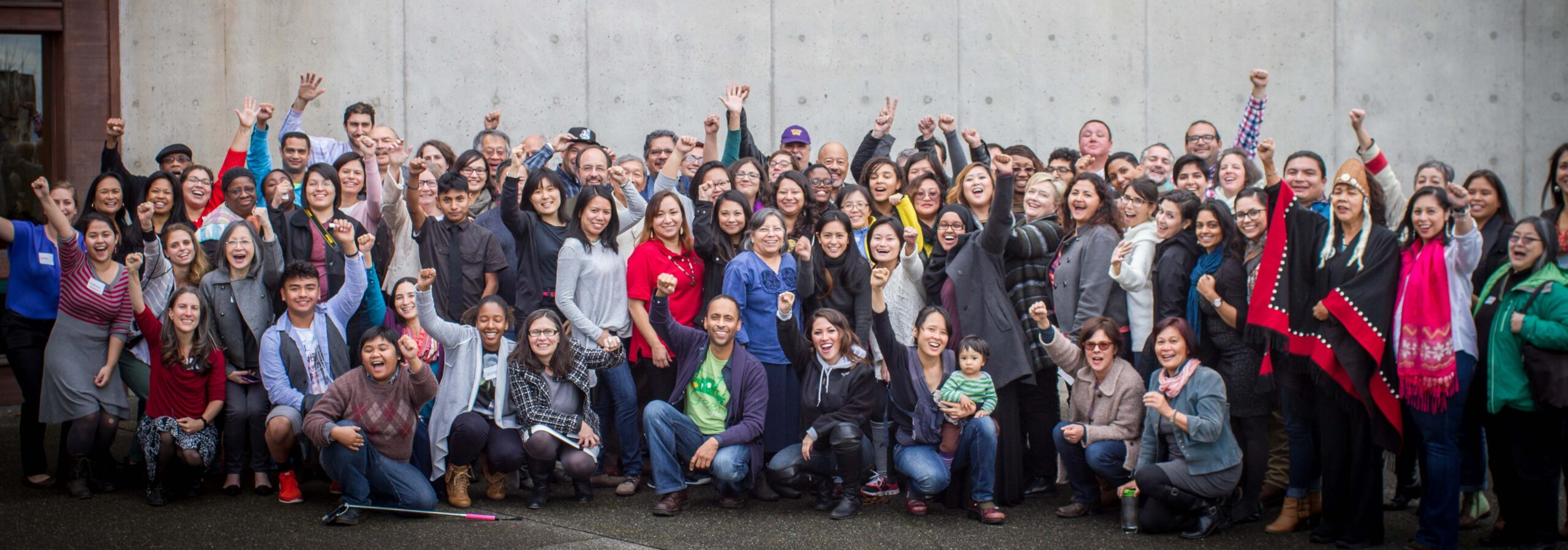 Leaders of color at climate justice summit