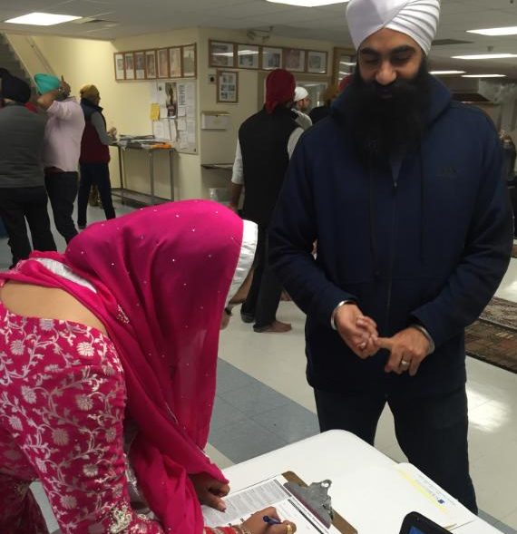 Sikh SOCH voter engagement