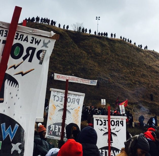 What can't be seen: A reportback from Standing Rock