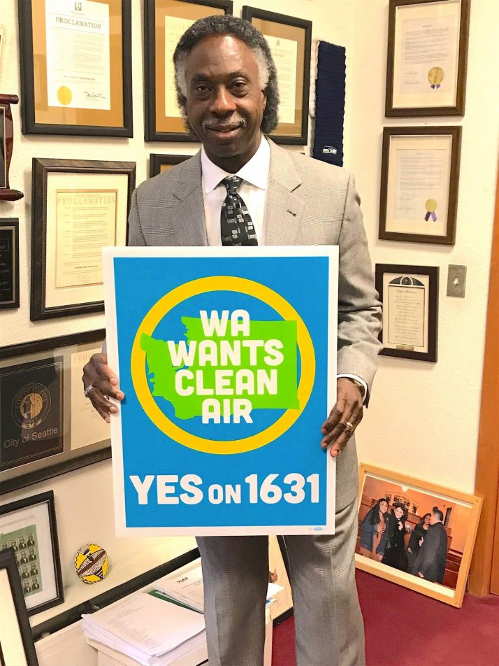 Join Pastor Anderson – Vote YES on 1631!