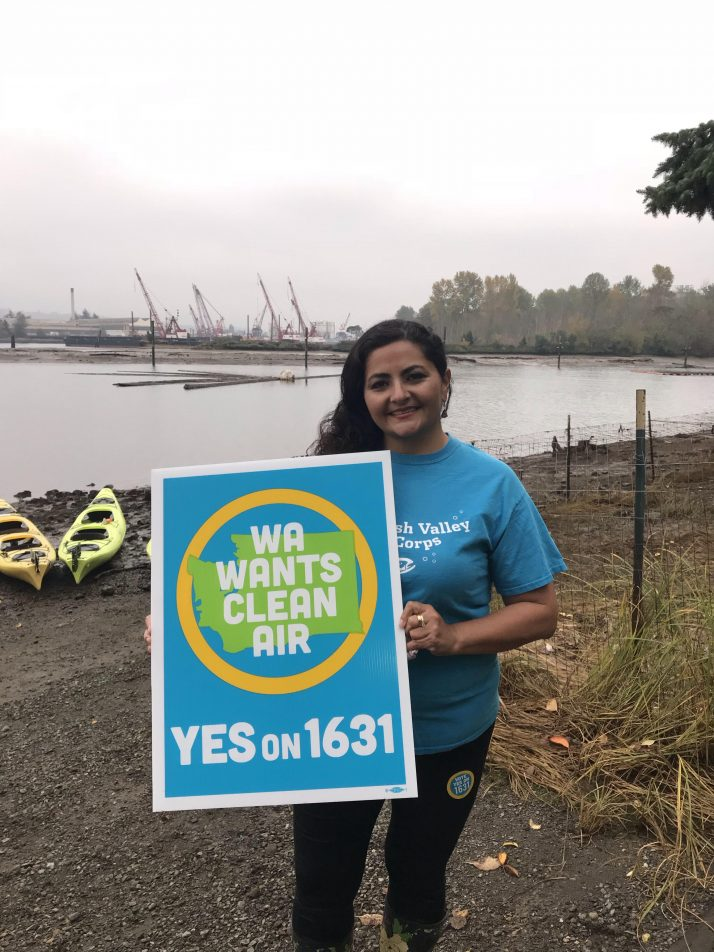 Join Paulina – Vote Yes on 1631!